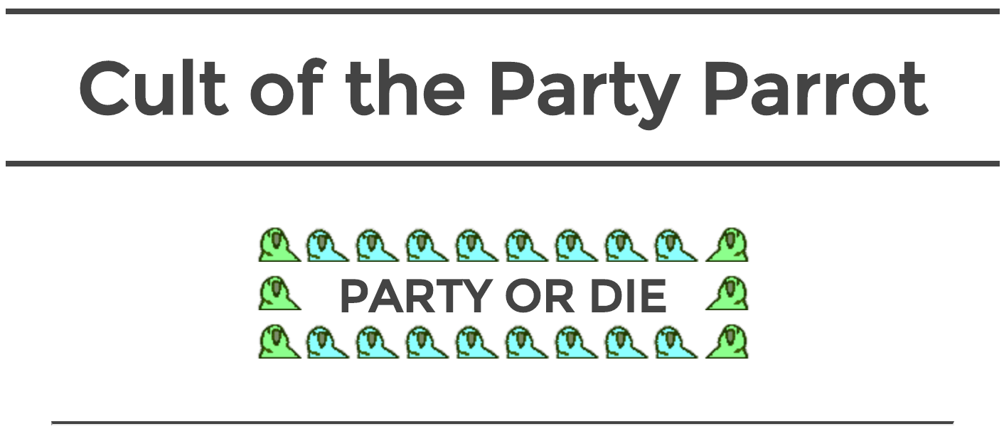 Cult of the Party Parrot